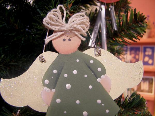 Manualidades de ngeles de navidad - Angeles de navidad manualidades ...