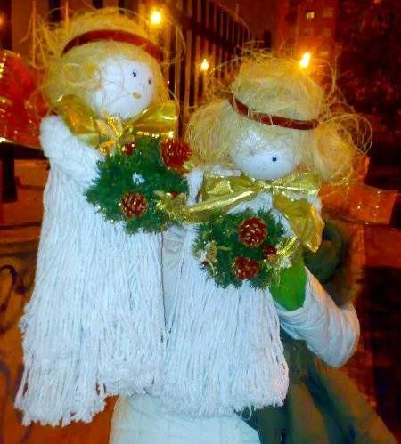 Angelitos de navidad manualidades - Angeles de navidad manualidades ...