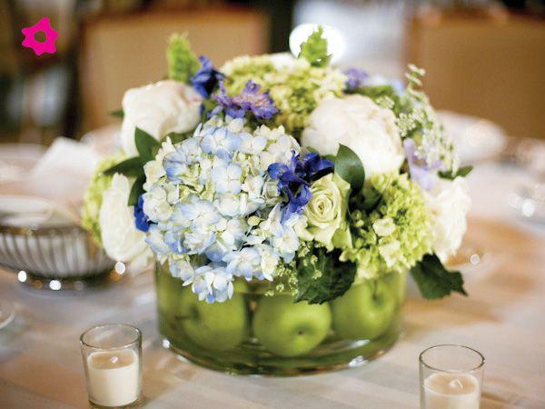Centros de mesa bodas originales for Mesas de boda originales