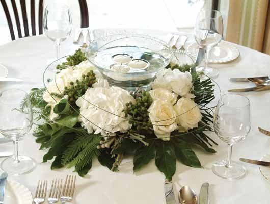 Adornos para centros de mesa para bodas for Adornos d mesa para boda