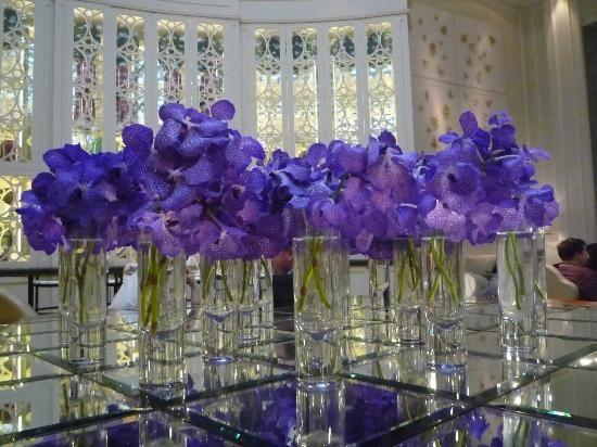Arreglos florales para centros de mesa de boda