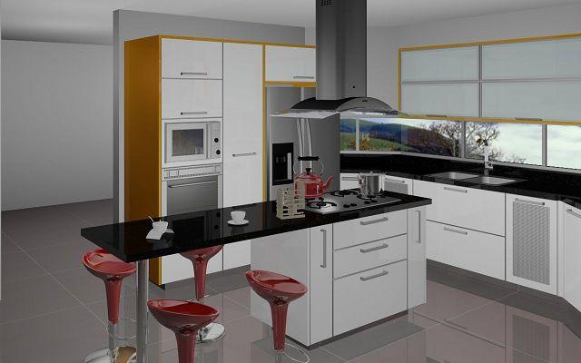 Cocinas con islas modernas - Islas para cocinas modernas ...