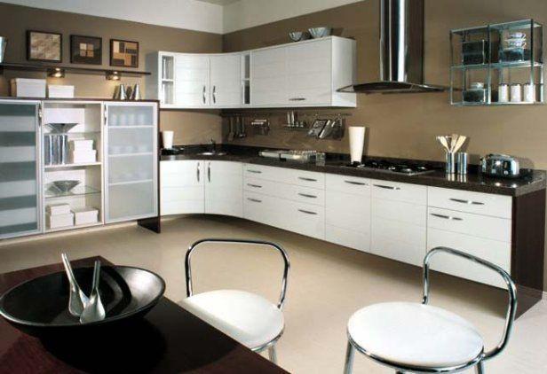Cocinas grandes y modernas for Cocinas bonitas y modernas