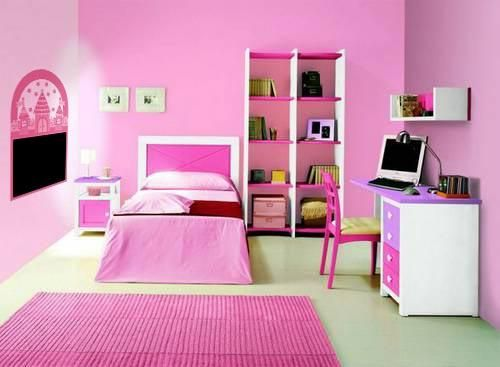 Como decorar un dormitorio infantil - Decorar dormitorio nina ...