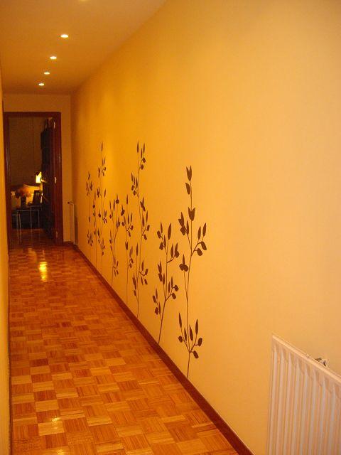 Como decorar un pasillo largo - Decorar pasillos largos ...