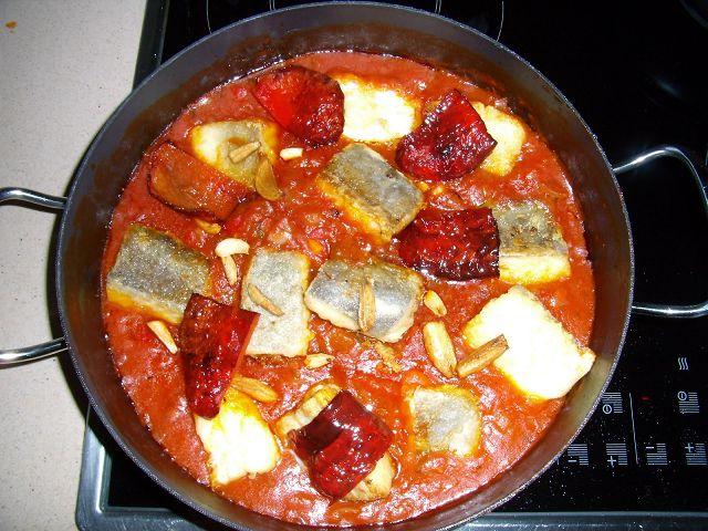Como preparar bacalao fresco con tomates - Bacalao fresco con tomate ...