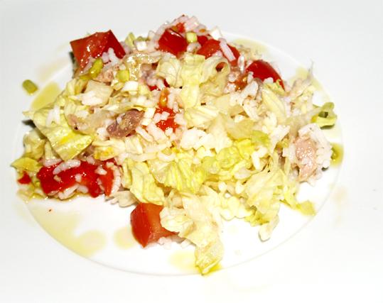 Como preparar ensalada de arroz y at n - Ensalada de arroz y atun ...