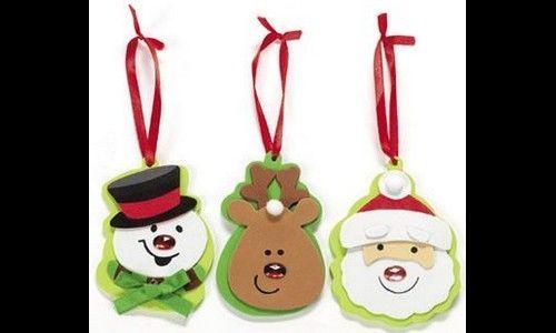 manualidades de navidad en goma eva