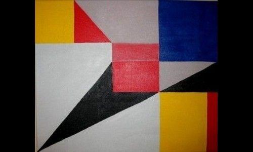 manualidades cuadros abstractos