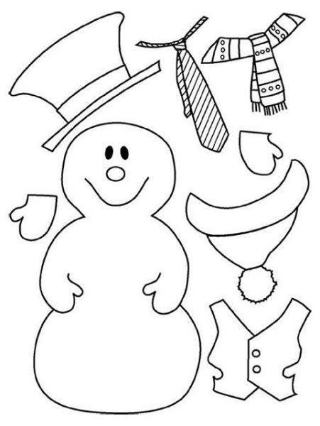 Manualidades de navidad para imprimir