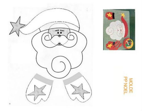 Image gallery moldes para manualidades - Manualidades infantiles para navidad ...