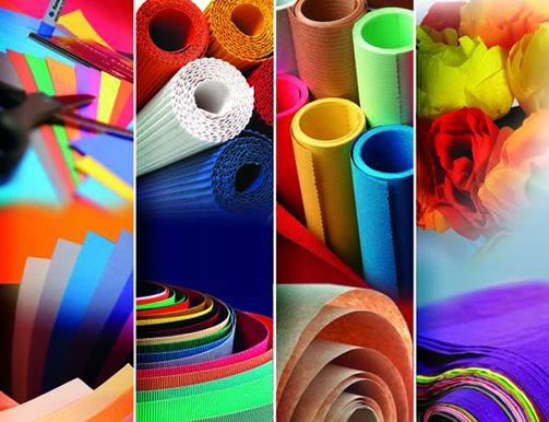 Papel para manualidades - Manualidades de papel para decorar ...