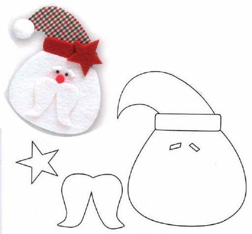 Patrones de manualidades de navidad
