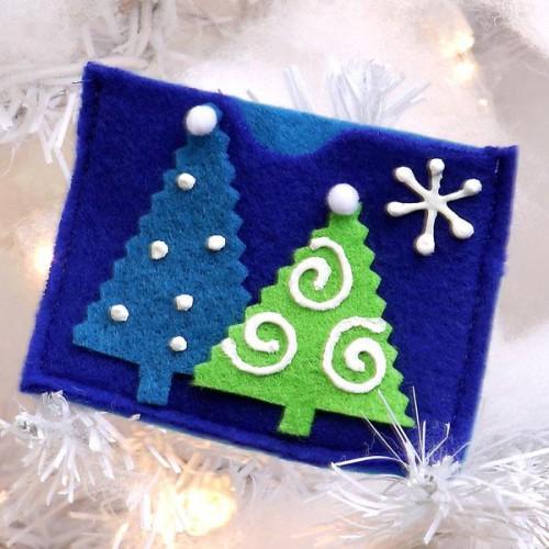 Manualidades de navidad tarjetas - Tarjeta navidad manualidades ...