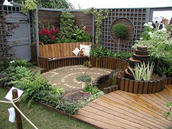 Como decorar un jardin peque o - Decorar un jardin pequeno ...