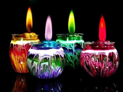 Decorar velas artesanales