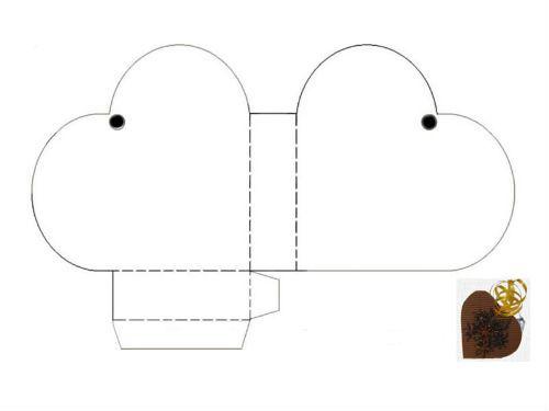 Moldes para manualidades de cartón