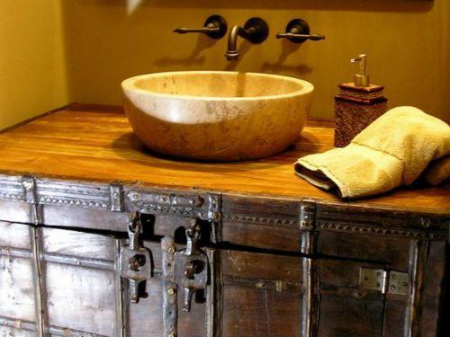 Muebles cuartos de ba o r stico - Cuartos de bano estilo vintage ...