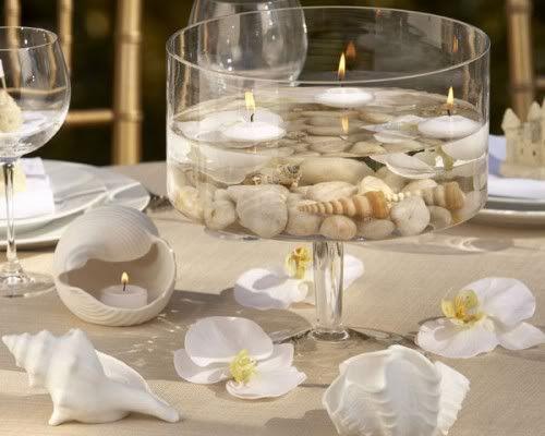 Venta de centros de mesa para boda