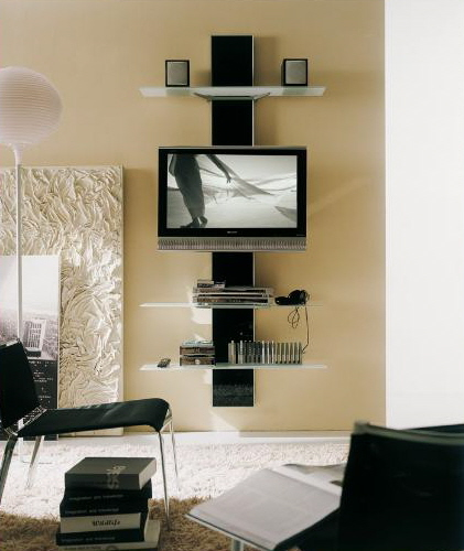 Decoraci n de casas peque as minimalistas - Media consoles for small spaces plan ...