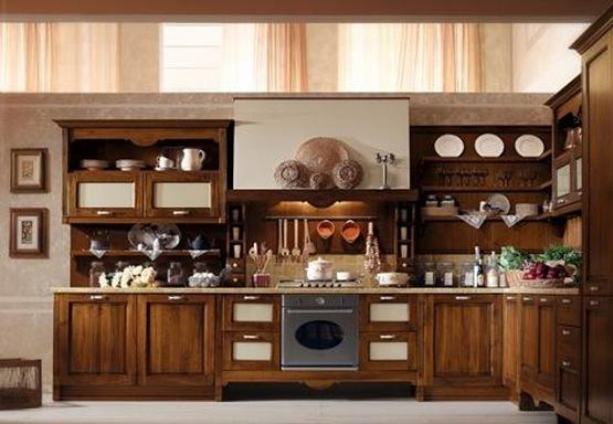Decoraci n de cocinas cl sicas - Cocinas amuebladas decoracion ...