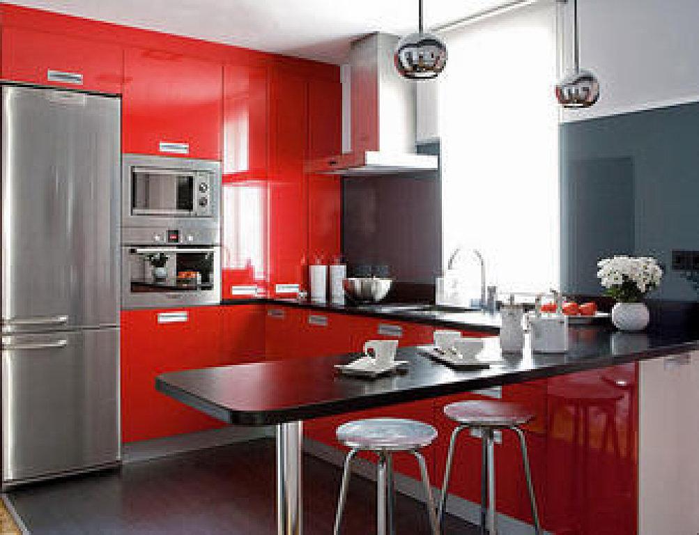 152-Decoración de cocinas con barra.