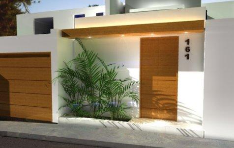 195-Decoración de fachadas de casas pequeñas.