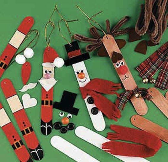 82-Manualidades para decorar árbol de Navidad.