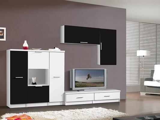 Muebles modernos de sal n - Colores de salones modernos ...