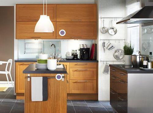 Accesorios muebles de cocina for Cocinas con islas en medio