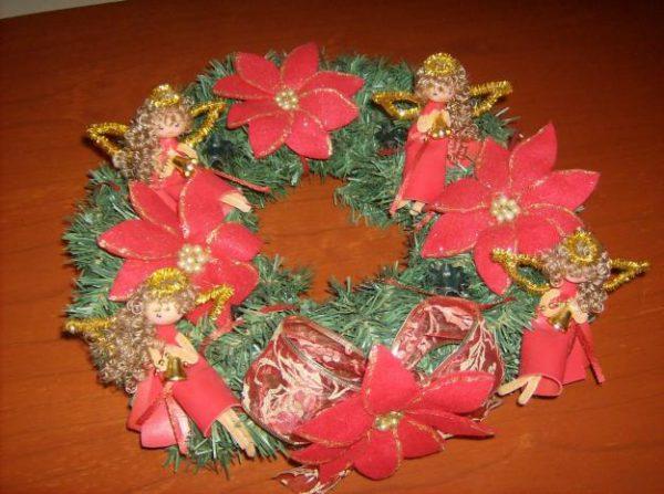 Arreglos navideños manualidades