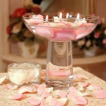 Arreglos para centros de mesa de boda