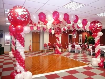 C mo decorar con globos un cumplea os - Como decorar un cumpleanos ...