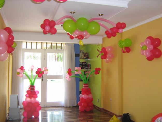 C mo decorar con globos una fiesta infantil for Como adornar con globos