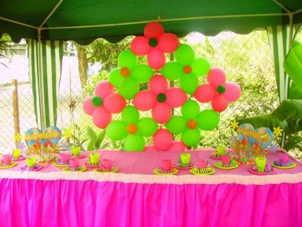 C mo decorar cumplea os con globos for Como adornar con globos