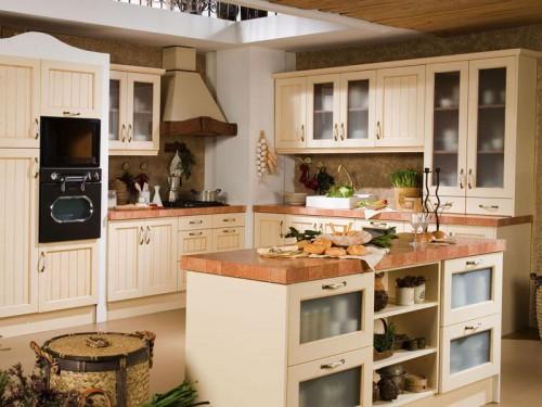Encimera de obra silestone o granito decorar tu casa es - Cocinas rusticas de obra fotos ...