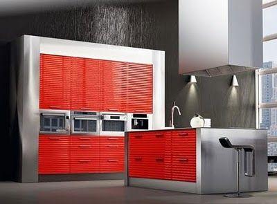Cocinas decoradas modernas