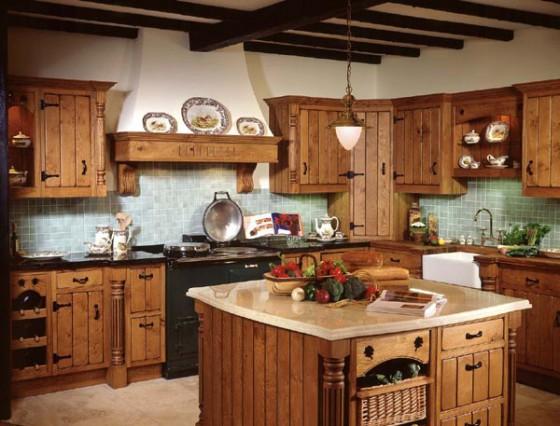 Cocinas decoradas rústicas