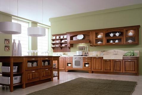 Cocinas en madera modernas for Cocinas integrales modernas de madera