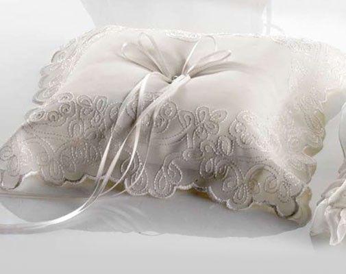 Cojines anillos de boda - Adornos para cojines ...