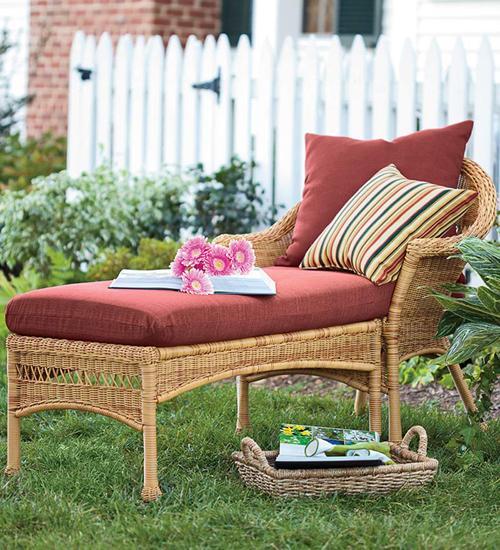 Cojines muebles jardín