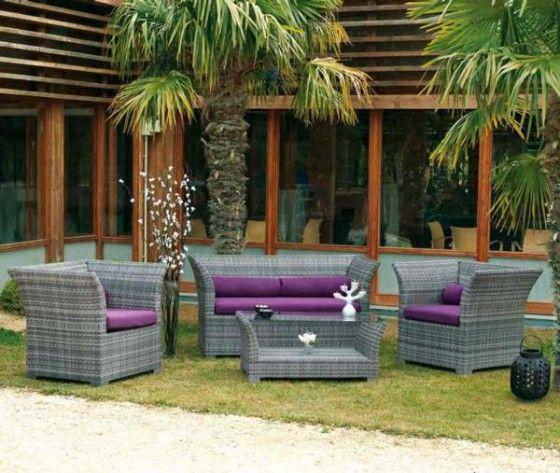 Cojines muebles terraza