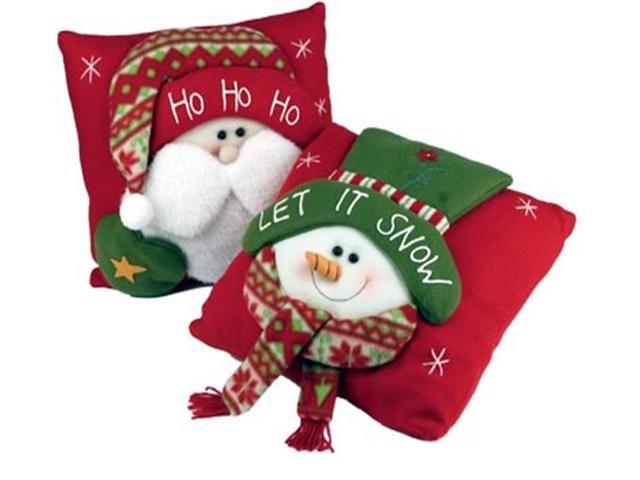 Cojines para navidad manualidades imagui - Manualidades de navidad en tela ...