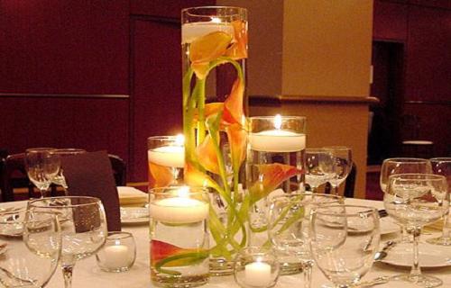 Como hacer centros de mesa para boda económicos