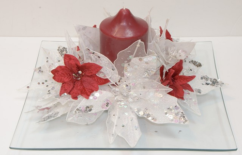 Como hacer centros de mesa para navidad for Centro mesa navidad manualidades
