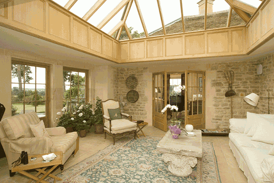 Decoración de casas de campo modernas