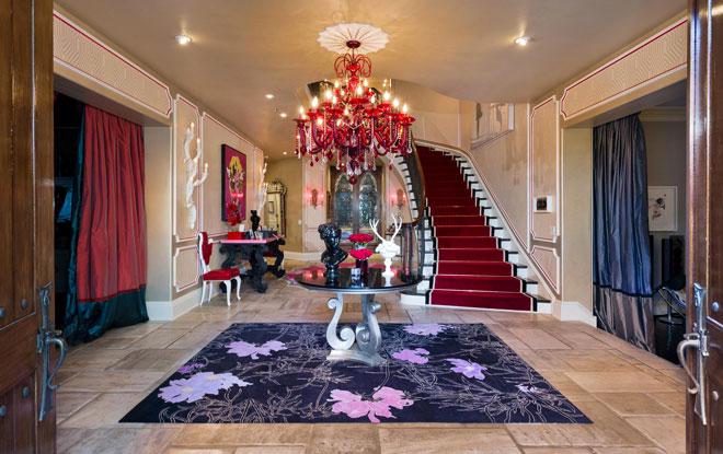 Decoraci n de casas de famosos - Disenador de interiores famoso ...