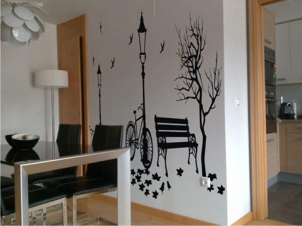 Decorar paredes vinilos for Decoracion de vinilos