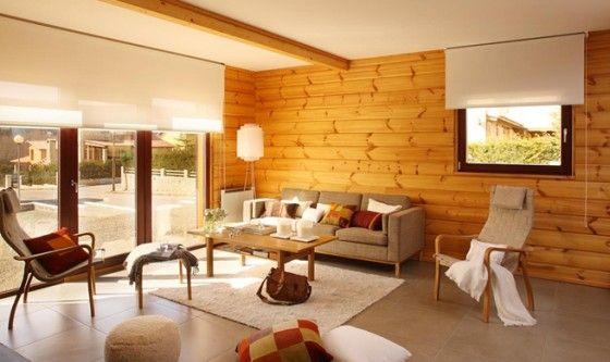 Decoracion de casas de madera