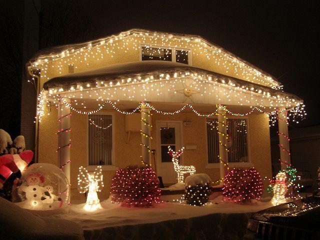 Decoraci n para la casa en navidad - Decoracion exteriores navidad ...